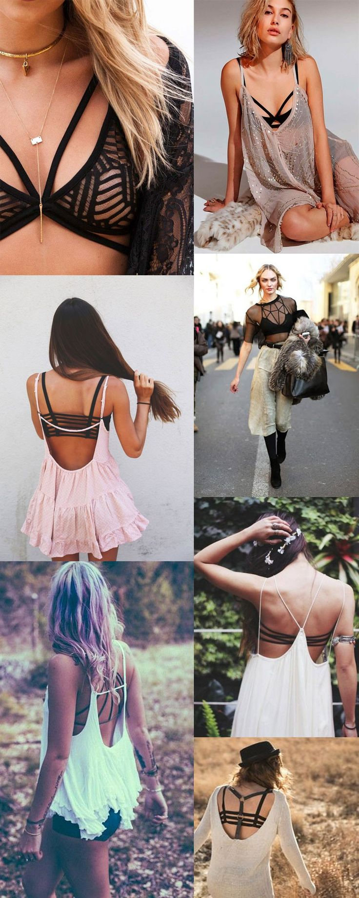 Strappy-Bras for backless dresses/shirts