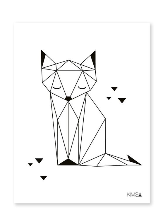 Lilipinso | Origami Play Fox – poster
