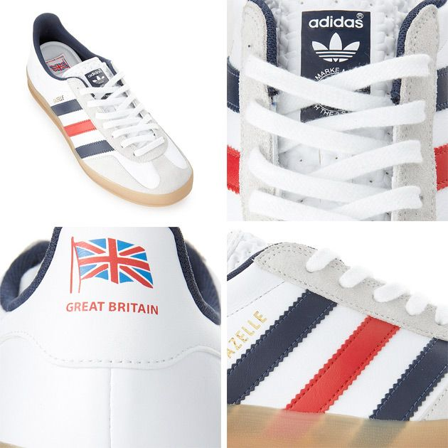 Adidas Gazelle Indoor Team Great Britain - The Swagger