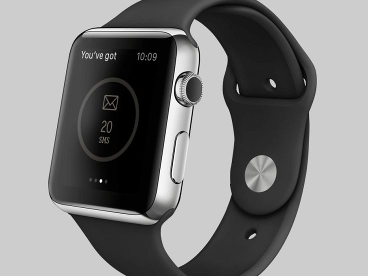Preview showing the information loading process in Watch application.