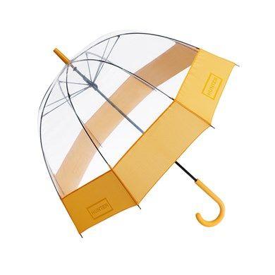 HUNTER UK - Ladies' Bubble Umbrella http://www.hunter-boot.com/ladies-bubble-umbrella/yellow
