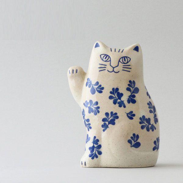 おしゃれなリサ・ラーソンの招き猫 - おしゃれ雑貨マガジン