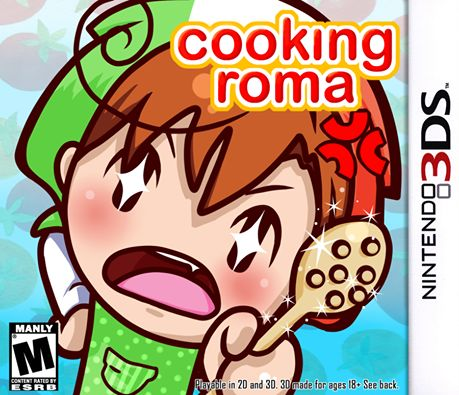 "GIVE ME THIS GAME  ""YOU FUCKED UP THE PASTA YOU PIECE OF SHIT."" ""I SWEAR TO GOD MY FUCKING ANCIENT ASS GRANDFATHER COULD SLICE BETTER THAN YOU."" ""WHO THE FUCK DO YOU THINK I AM CHEF BOYARDEE?""  Rated M for Manly"