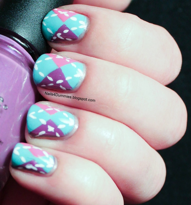 Nail Cake Blue Black Splodges Cow Print: 119 Best Images About Cute Nail Designs On Pinterest