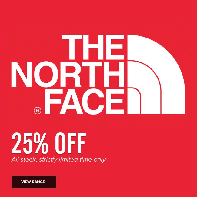 25% off all The North Face product - strictly limited time only http://www.mainpeak.com.au/brands/the-north-face/ FINISHED!