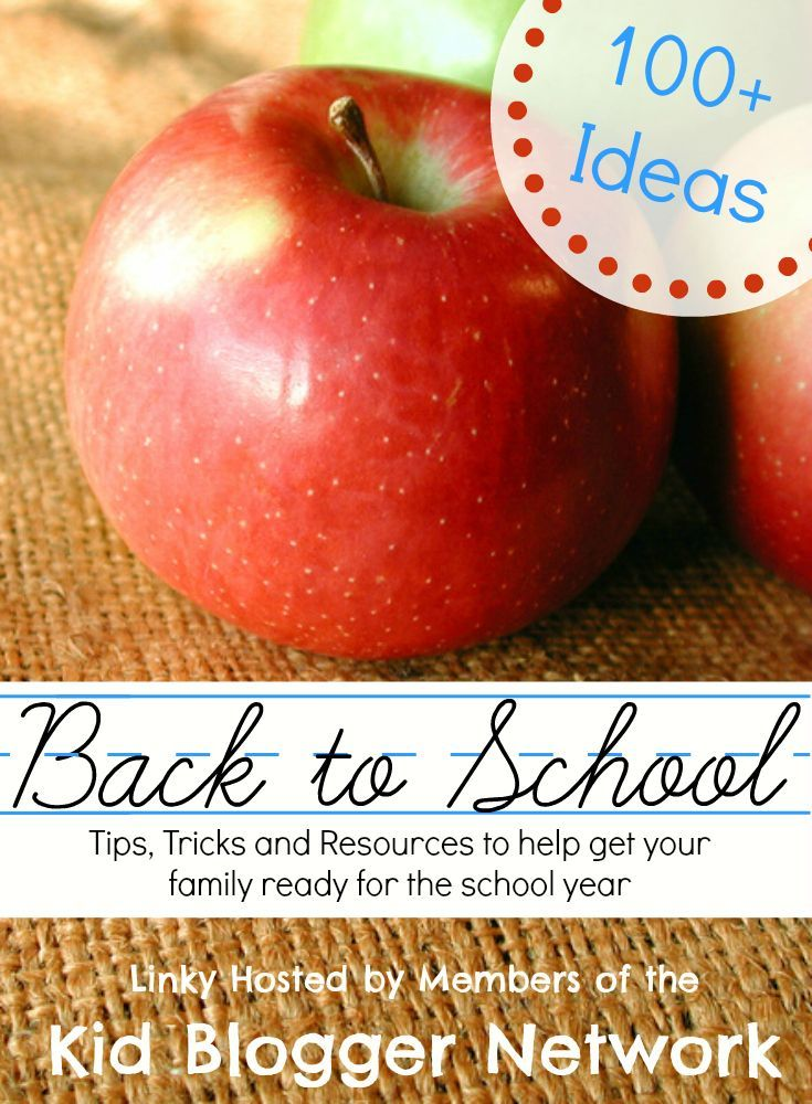Back to School Trips, Tricks and Resources for your school year