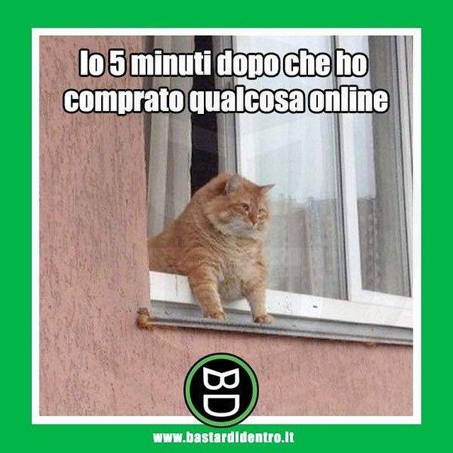 Quando compri qualcosa #online #bastardidentro #felicità #ipnoticamentebastardidentro www.bastardidentro.it