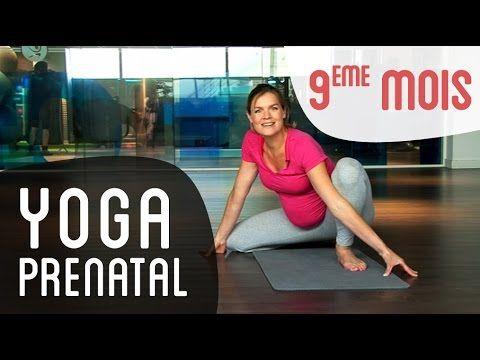 Yoga Prénatal 7ème mois de grossesse - avec le Dr Bernadette De Gasquet - YouTube