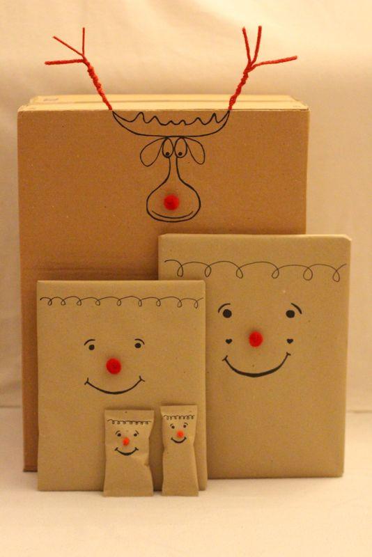 Für Kinder Geschenke verpacken  www.carrotsforclaire.com