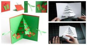 Kartka z życzeniami: zaskocz swoich znajomych w te święta i stwórz ją własnoręcznie!