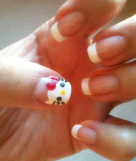French Kitty nail