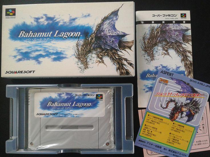 Bahamut Lagoon for Super Famicom (SNES Japan)