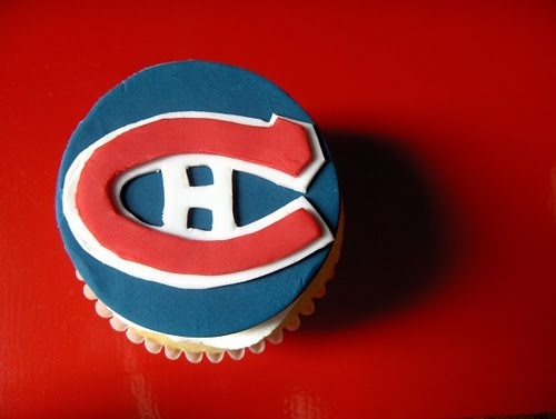 Montreal Canadiens cupcake