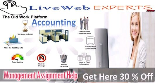 The#Live_Web_Experts is a renowned academic portal that offers #accounting_management_assignment_help as per prescribed #accounting_homework_support for universities students.   Visit Here https://www.livewebexperts.com/assignment-help/accounting-homework-help  Live Chat@ https://m.me/livewebexperts  For Android Application Users https://play.google.com/store/apps/details?id=gkg.pro.lwe.clients&h