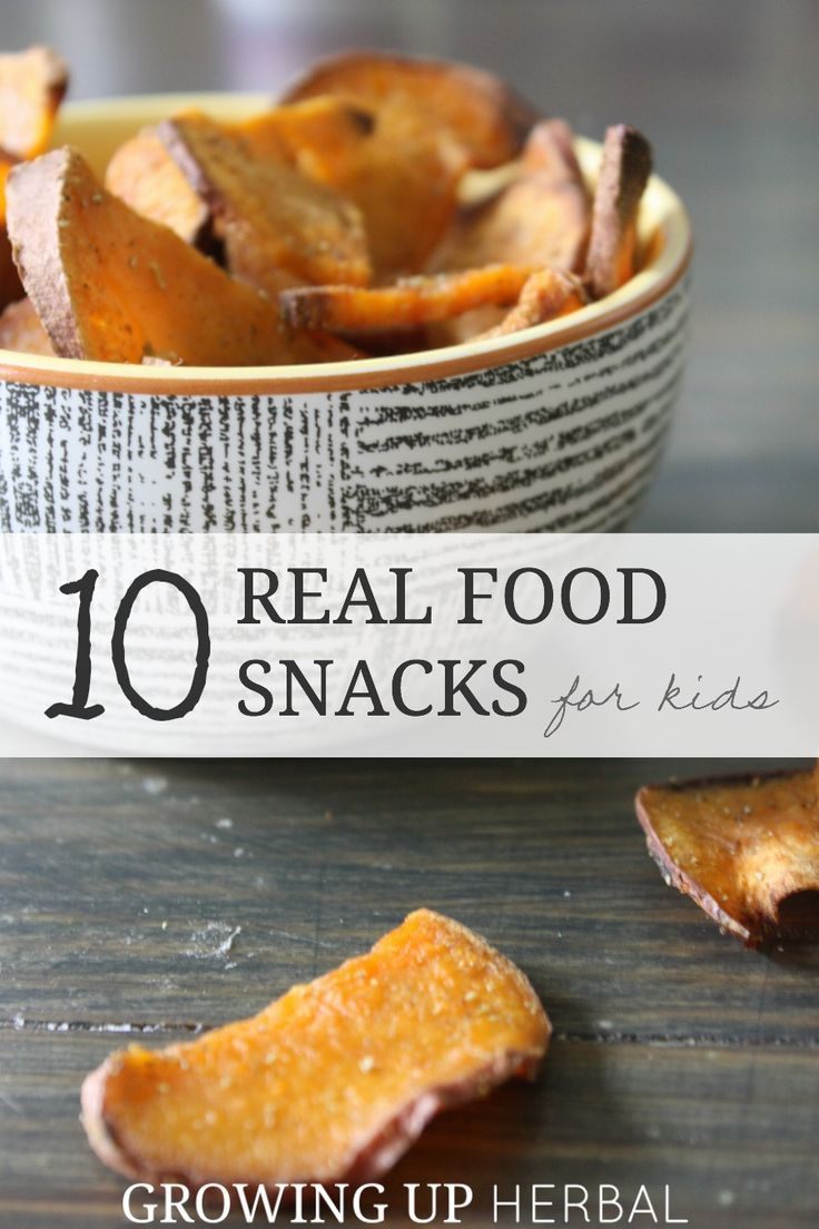 Ten Real Food Snacks For Kids That Are Easy To Make And Have On Hand When You Need Them | Growing Up Herbal