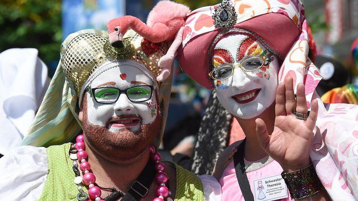 Erstmals ist auch die CSU dabei: München feiert den Christopher Street Day