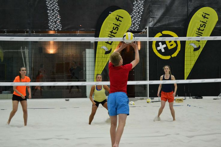 Beach Volley Match, Helsinki