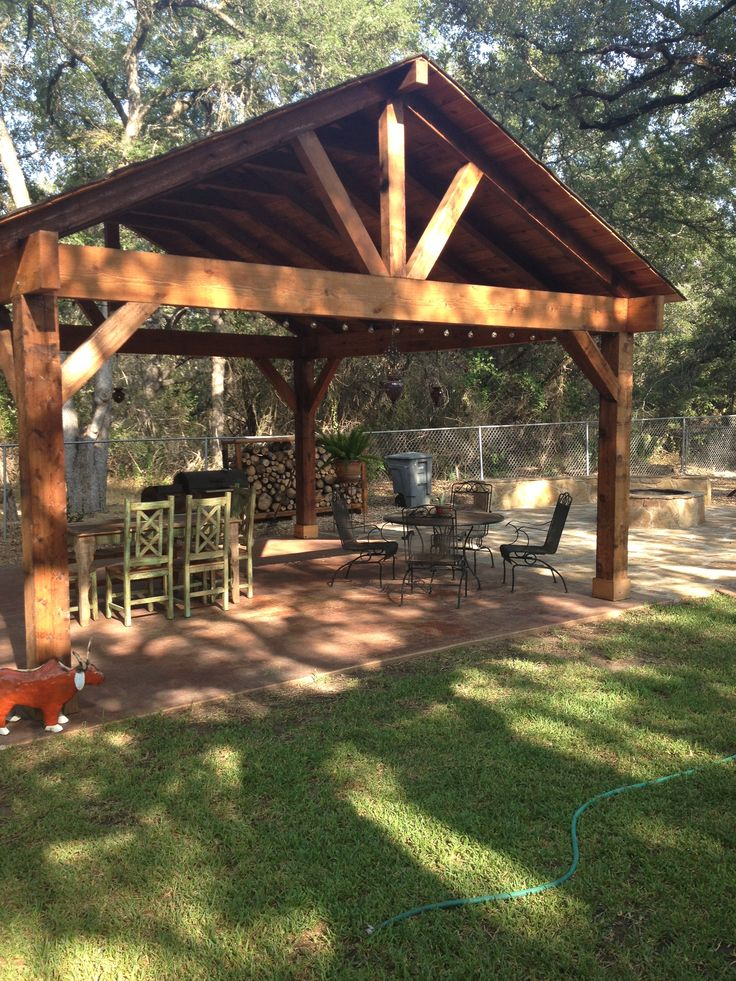 66 best rustic carport images on pinterest cottage for Rustic carport