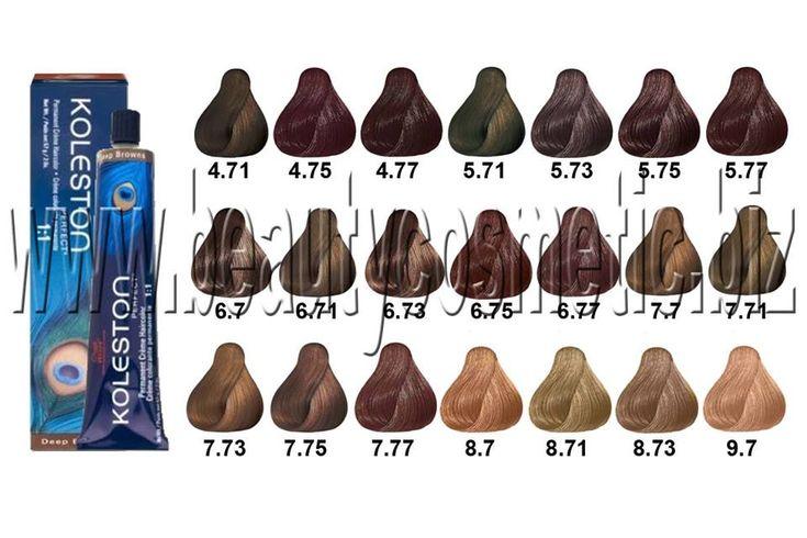 Wella Koleston Perfect Deep Brown Hair Dye Brown Hair Dye Wella Hair Color Chart Deep Brown Hair
