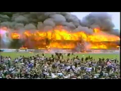 The Bradford City stadium fire was the worst fire disaster in the history of English football. Saturday, 11 May 1985, killing 56 and injuring at least 265.