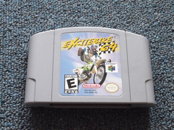 Excitebike 64 for N64 system