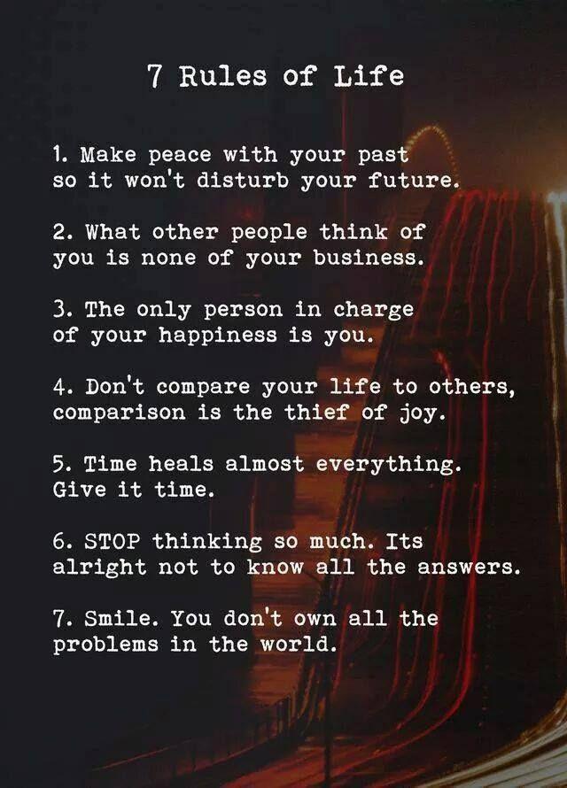 Good advice, especially for my Mom.