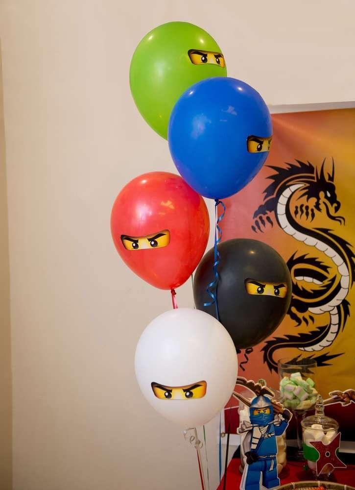 ninjagogeburtstagsfeierideen  ninjago birthday party