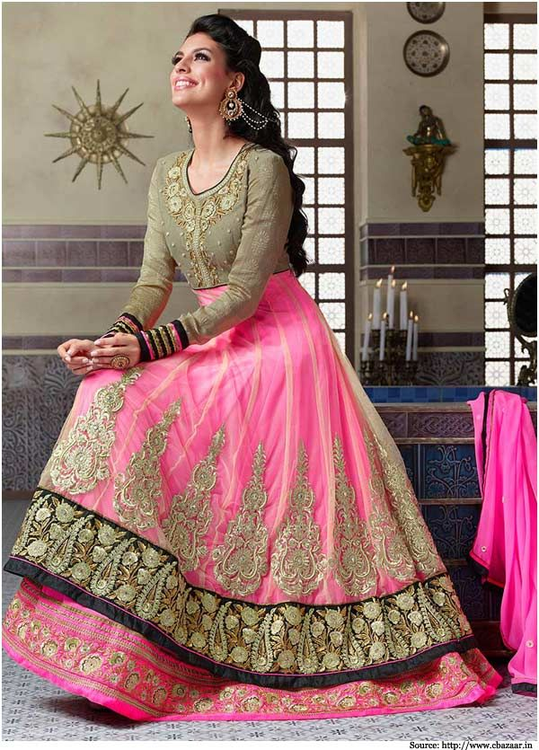 Net #Anarkali Suits