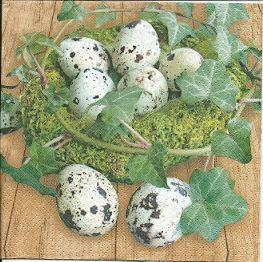 перепелиные яйца - ДЕКУПАЖ