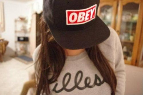 OBEY snapback hats for girls | Hats <3 | Pinterest