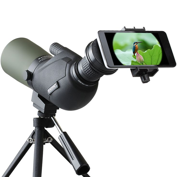 IPRee™ 15-45X60A Travel Monocular Bird Watching Telescope Spotting Scope HD Optic Zoom Lens Eyepiece Nitrogenization Waterproof