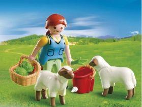 Playmobil Special Plus Αγρότισσα Με Προβατάκια (4765)- 2.99