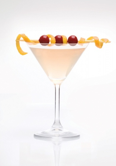 Limonata Rosa  2 oz Double Cross  1 oz fresh lemon juice  1 oz Limoncello  1/4 oz cranberry juice