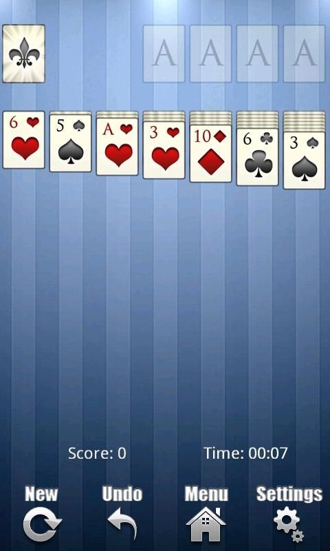 This is the best solitaire game for Android. If you like solitaire on your PC then you will love this free version of the casual cards game for Android. The graphics are very beautifull and the game play is clear and simple. You can cusomise the game cards and the game background. You can even compete with friends through OpenFeint. We also have a couple of achievements we challenge you to unlock! <br><br>Free solitaire features:<br>- Best solitare game<br>- Choose to deal 1 card or 3…