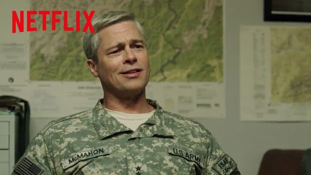 Brad Pitt in the First Trailer for War Machine, Coming to Netflix
