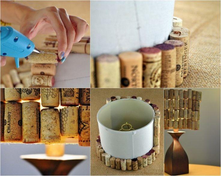 Alte Weinkorken Kreativ Verwenden