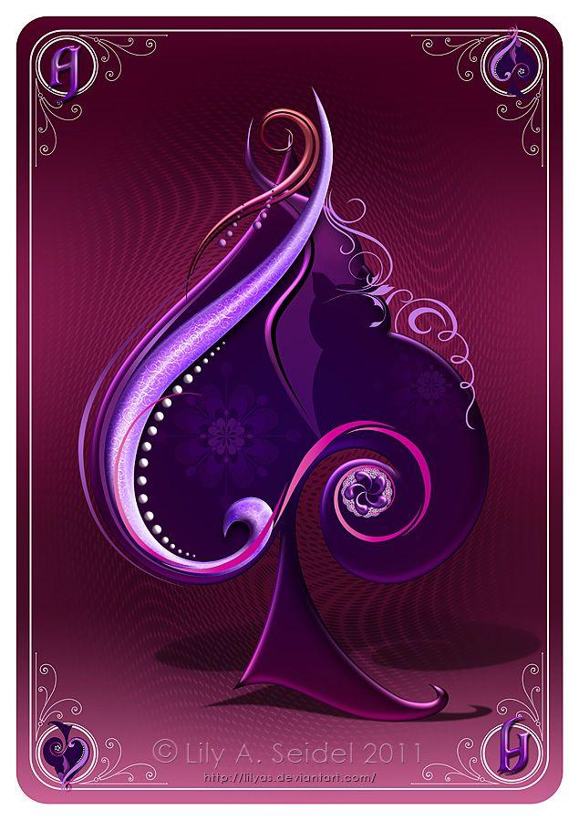 Tarot Card Deck Design Magenta