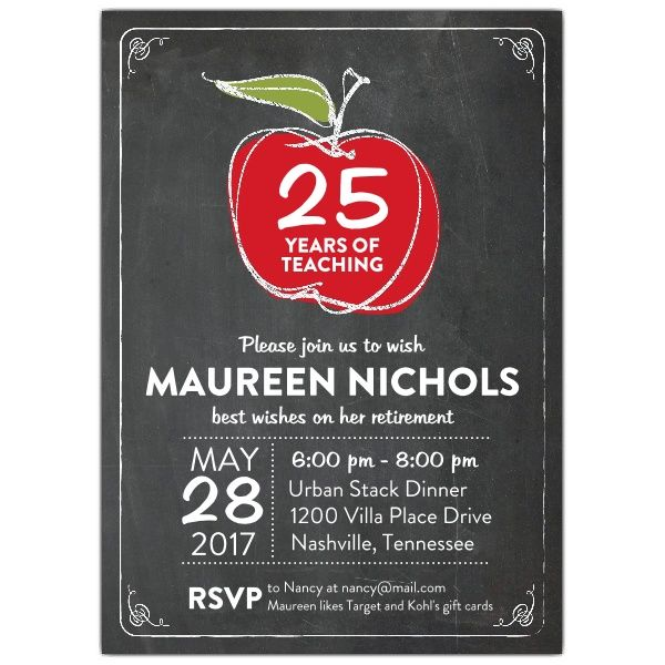 Best 25+ Retirement invitations ideas only on Pinterest ...
