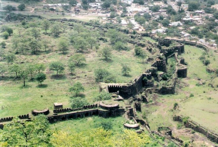 A View from Daulatabad Fort - Delhi Sultanate - Wikipedia, the free encyclopedia