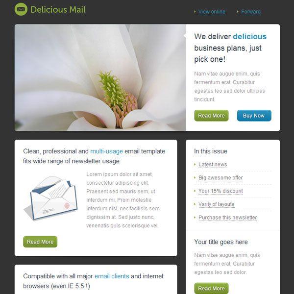 20 best diversity newsletter ideas images on pinterest for Newsletter design inspiration