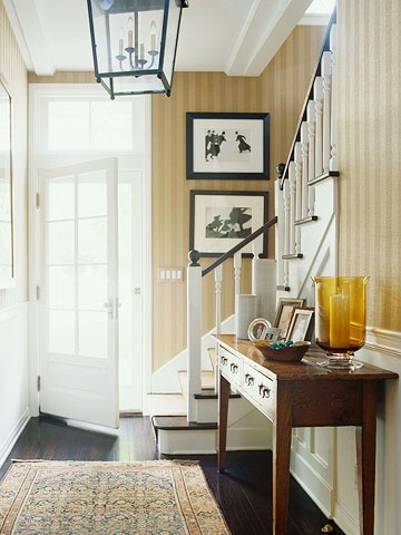 Another pretty under the stairs area