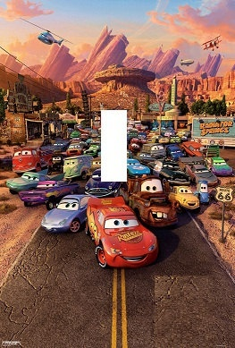 Disney Cars Light Switch Plate cover Kids Room by Stillwatersgifts, $6.99