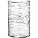 Spin Large Pillar, Taper, Small Pillar Candleholders - Crate & Barrel