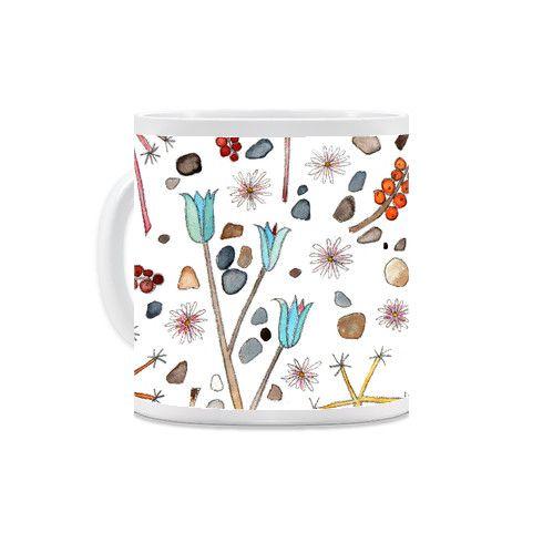 Little Hedges Mug by emmaallardsmith at zippi.co.uk