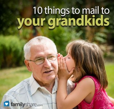@Lonna Hagen Hagen Anderson @Shellie Giddings Giddings Shore FamilyShare.com | Special delivery: 10 things to mail to your grandkids #grandparents #grandkids #mail