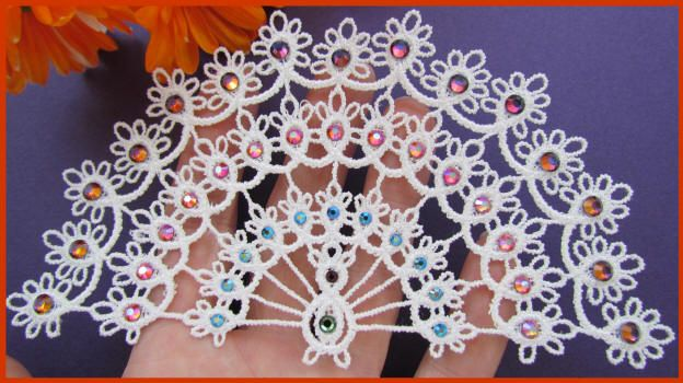 Tatting 101 - Free-standing Peacock Designs by Murphy's ...