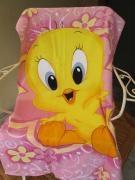 Πετσέτα Παιδική Tweety Pink @Pennieshops