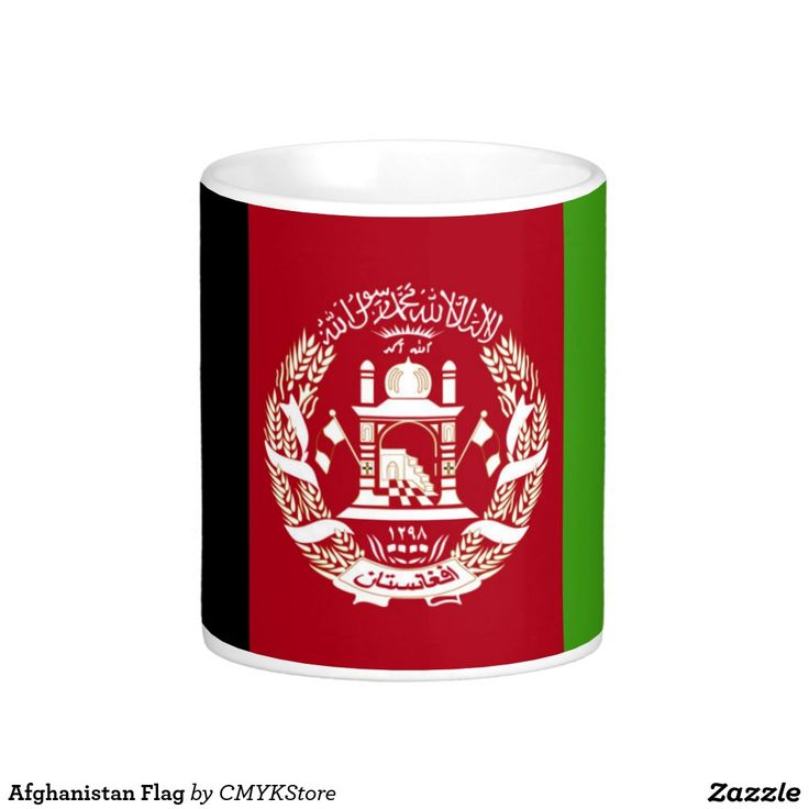 Afghanistan Flag Basic White Mug