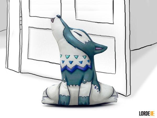 Peso de Porta lobo - Lorde