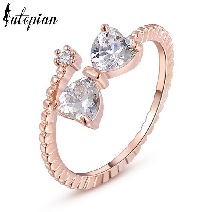 Italina R.A, обручальные кольца Aneis, с подлинным австрийским цирконием, высокое качество, не вызывает аллергии #RA11436купить в магазине iutopian Official StoreнаAliExpress